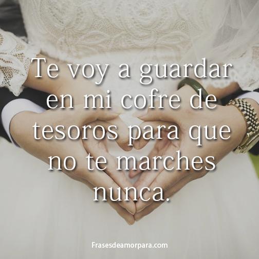 Frases De Amor Para Mi Esposo O Futuro Marido