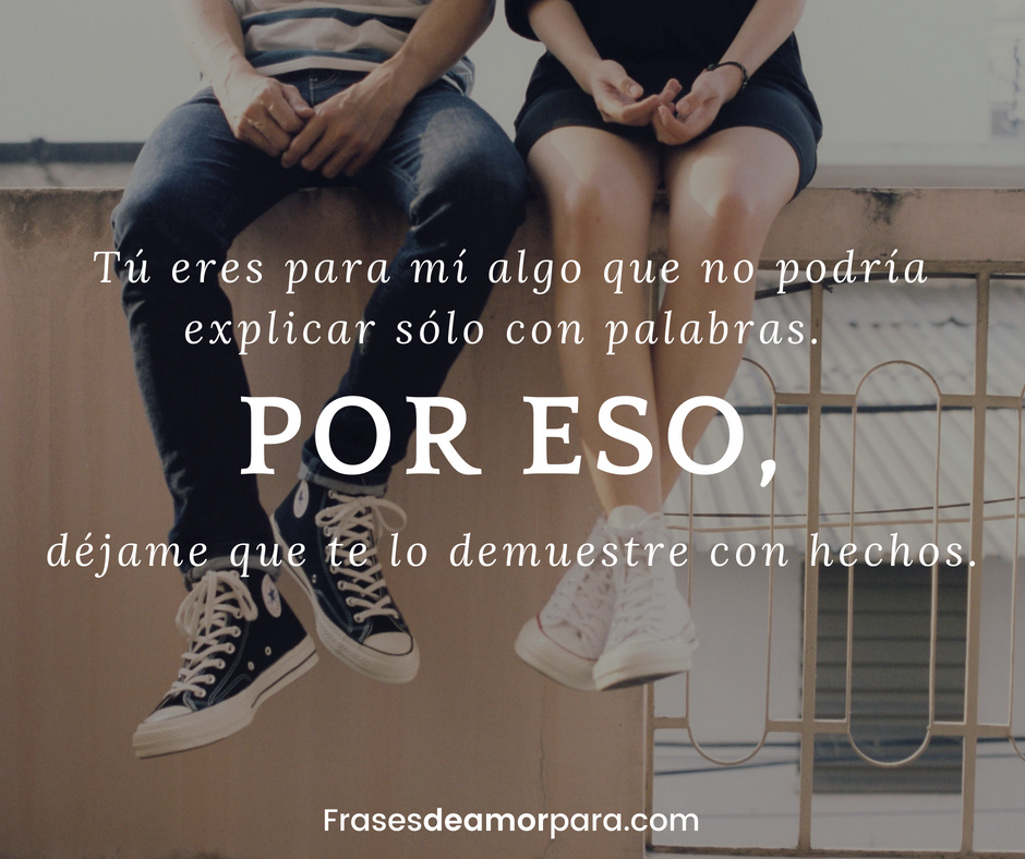 eres mi vida mi todo eres quiero para mi ti encontre razon mi existir